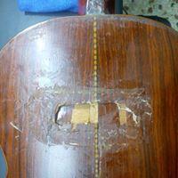 Classic Guitar Guitar Body Repair Προς Επιδιόρθωση Σπασίματος / Refinishing