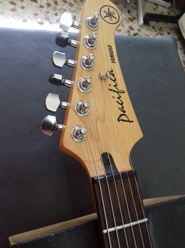 Yamaha Pacifica Από Set up 567